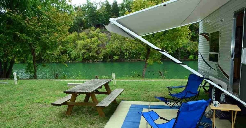 how to adjust electric rv awning